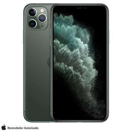 iPhone 11 Pro Max, Seminovo 512 GB, Verde Meia-Noite