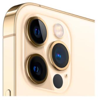 iPhone 12 Pro Max, Novo 128 GB, Dourado