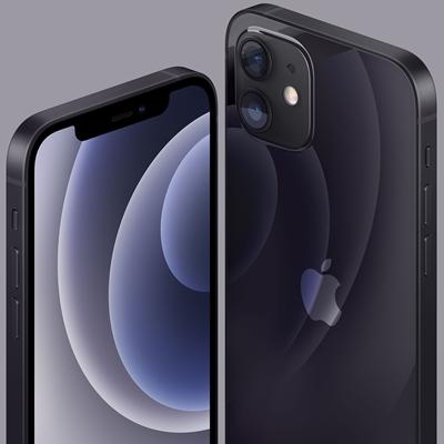 iPhone 12, Novo 128 GB, Preto