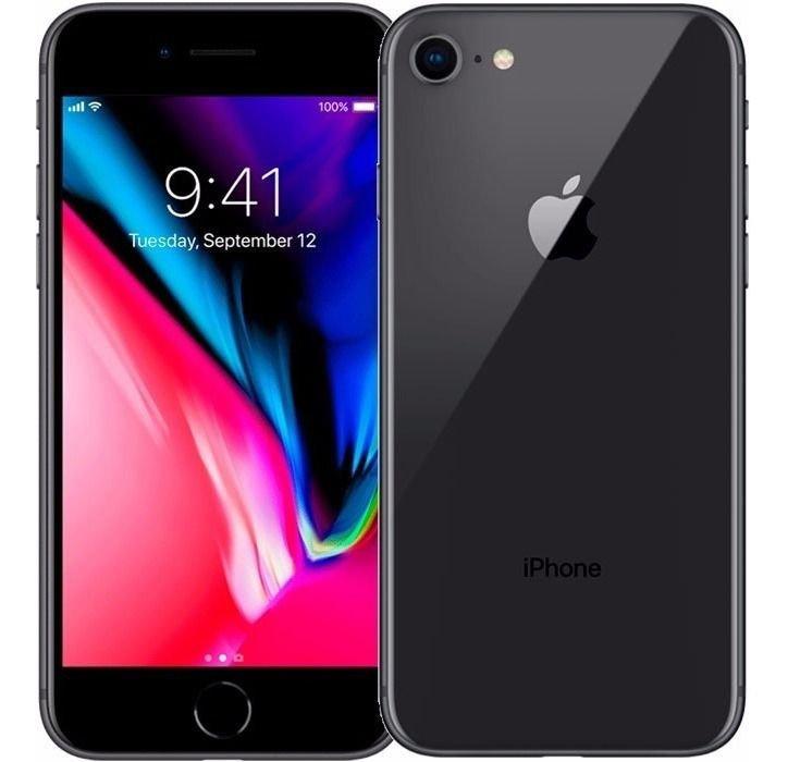 iPhone 8, Seminovo 64 GB, Preto