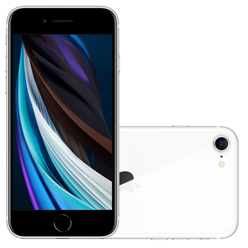 iPhone SE, Seminovo 64 GB, Branco