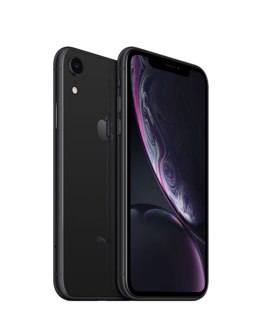 iPhone XR, Seminovo 64 GB, Preto