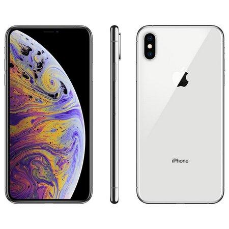 iPhone XS, Seminovo 256GB, Prata