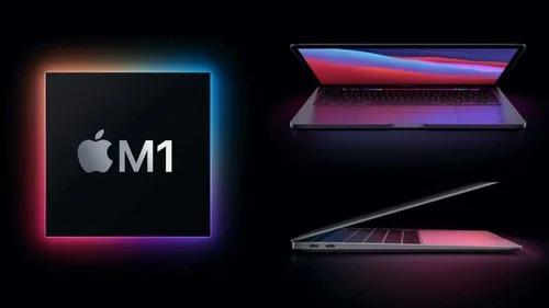 "Macbook Pro Space Gray Novo, processador M1 8C, 8GB ram, 256GB ssd (13"", 2020)"