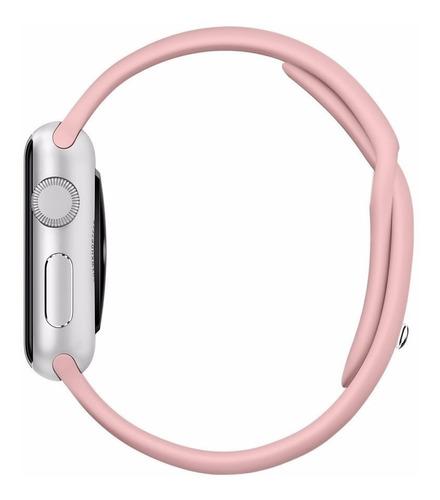 Pulseira de Silicose Rose Para Apple Watch (38/40mm)