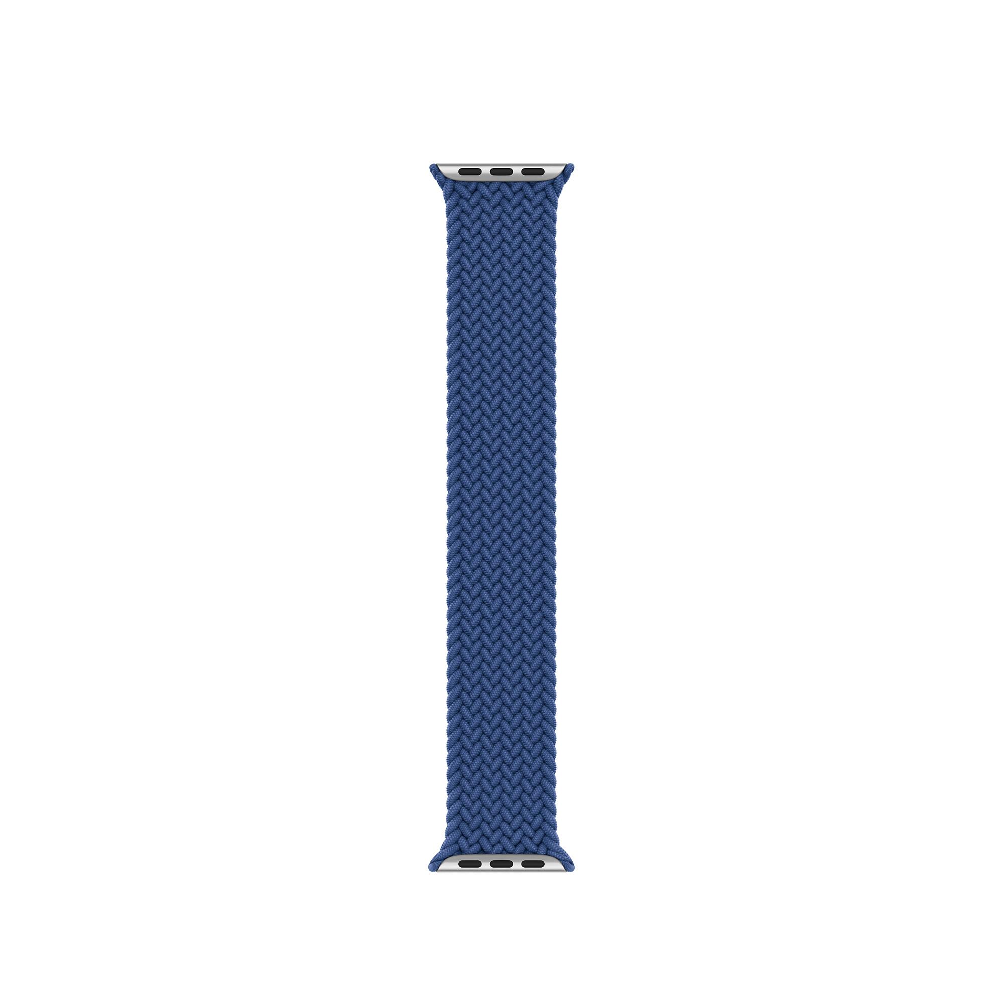 Pulseira LOOP Nylon Trançado Azul 42/44mm M