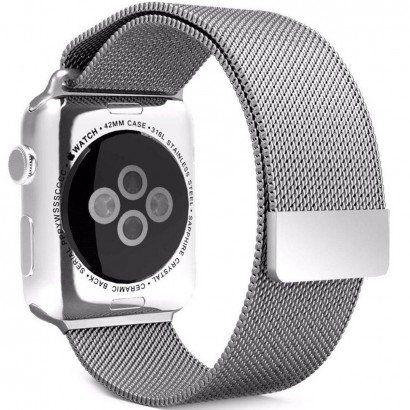 Pulseira Milanese Aço Para Apple Watch