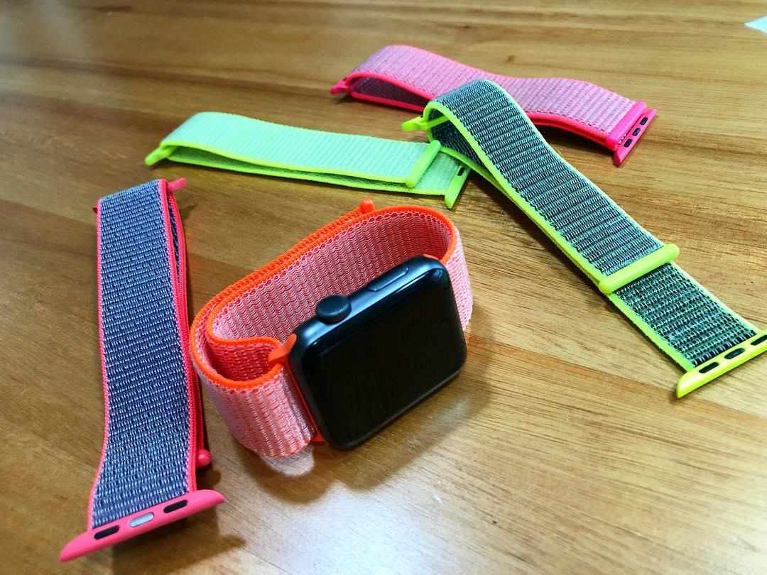 Pulseira Nylon Velcro Loop Apple Watch Esportivo