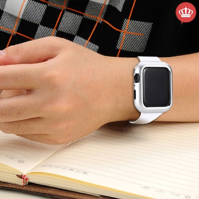 Strong Magnetic Watch Case Prata 38mm