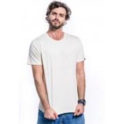 Camiseta Manga Curta Basics ONP Amêndoa