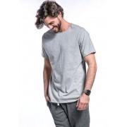 Camiseta Manga Curta Basics Cia Gota Cinza Mescla