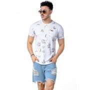 Camiseta Manga Curta Full Garden Branco