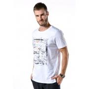 Camiseta Manga Curta Fun Branco