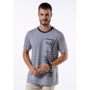 Camiseta Manga Curta Ocean Vibes Marinho