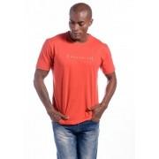Camiseta Manga Curta Reconecte Vermelha