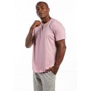 Camiseta Manga Curta Rosa Claro Basics Cia Gota