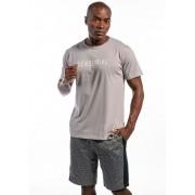 Camiseta Manga Curta Sensorial Cinza