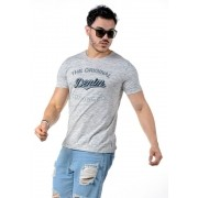 Camiseta Manga Curta The Original Denim Cinza