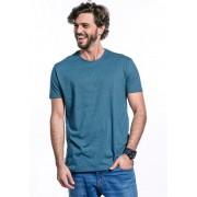Camiseta Manga Curta Basics Cia Gota Turquesa Mescla