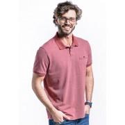 Camiseta Polo Manga Curta Linea