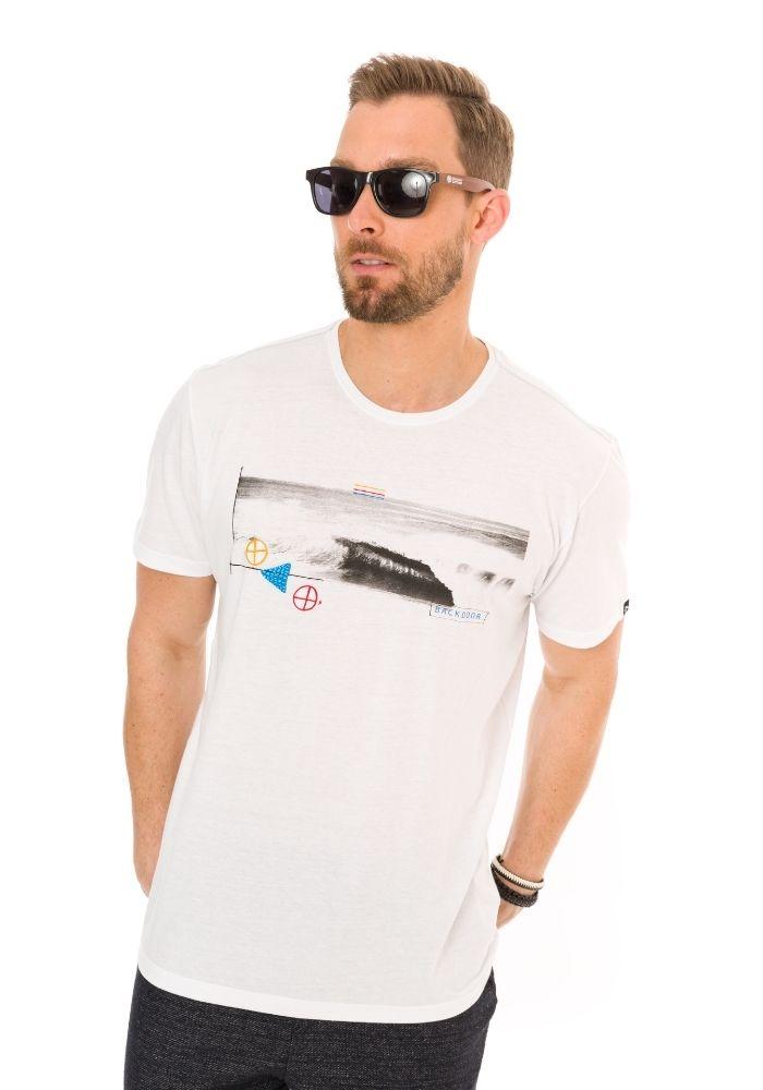 Camiseta Manga Curta BackDoor ONP Branco
