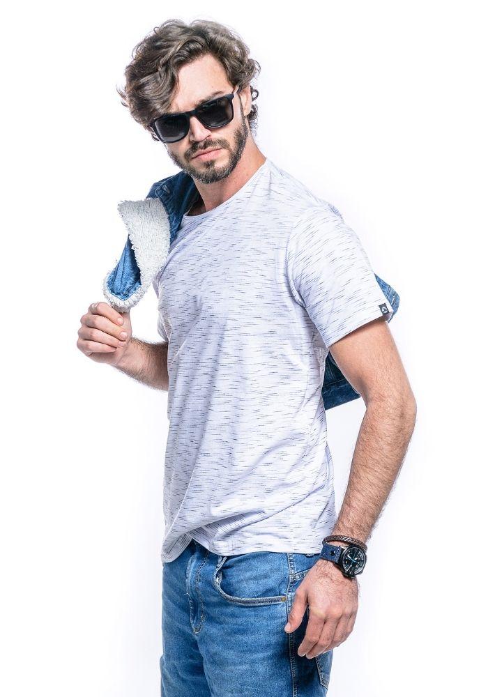 Camiseta Manga Curta Basics ONP Branco Jet