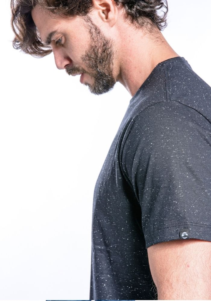 Camiseta Manga Curta Basics ONP Preto Botonê