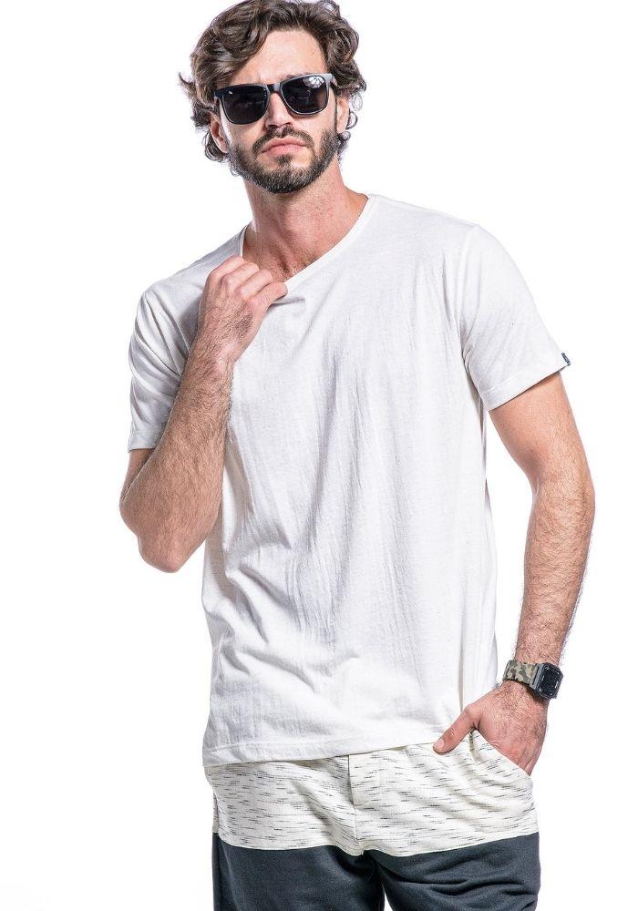 Camiseta Manga Curta Basics ONP Branca