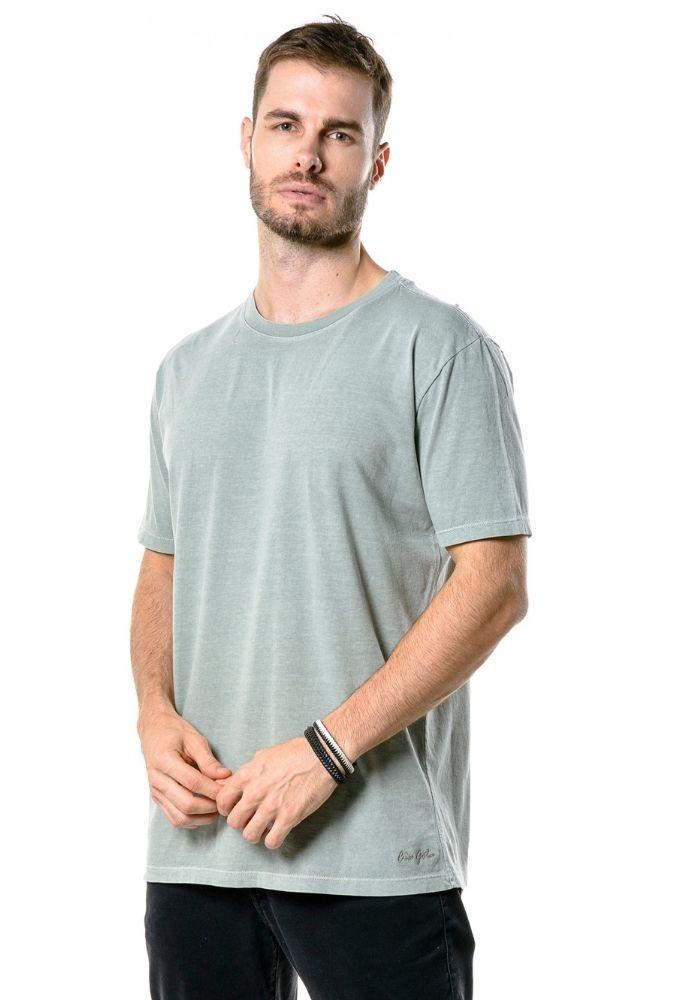 Camiseta Manga Curta Esonada Cia Gota Verde
