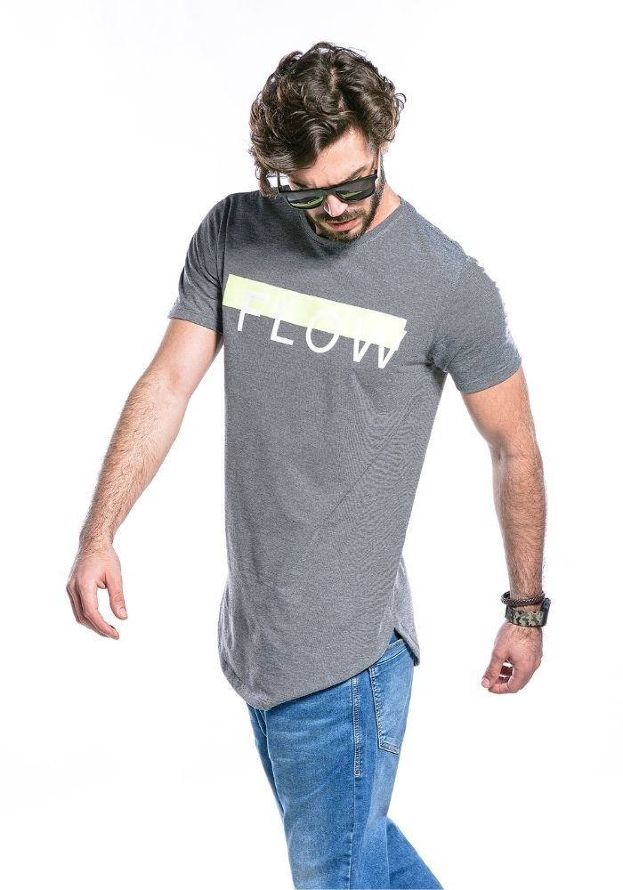 Camiseta Manga Curta FLOW
