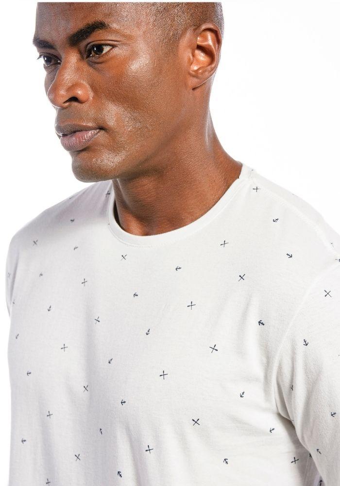 Camiseta Manga Curta Full Náutica Branco