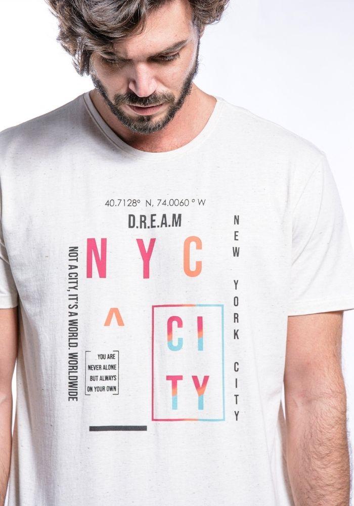 Camiseta Manga Curta NEW YORK CITY