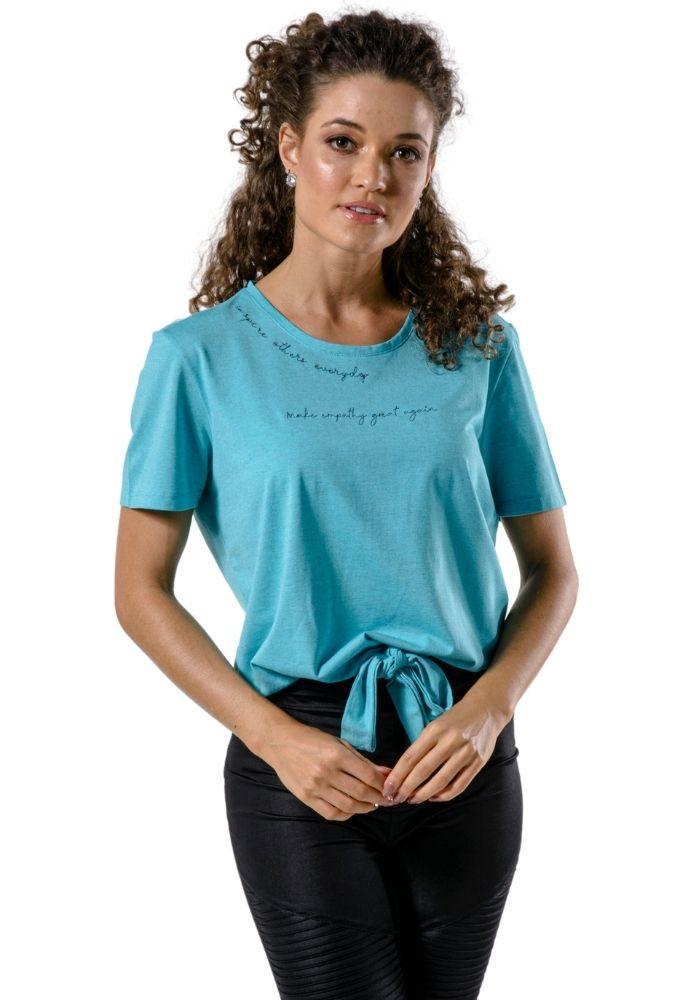 Camiseta Manga Curta Nozinho Inspire Woman Verde Claro