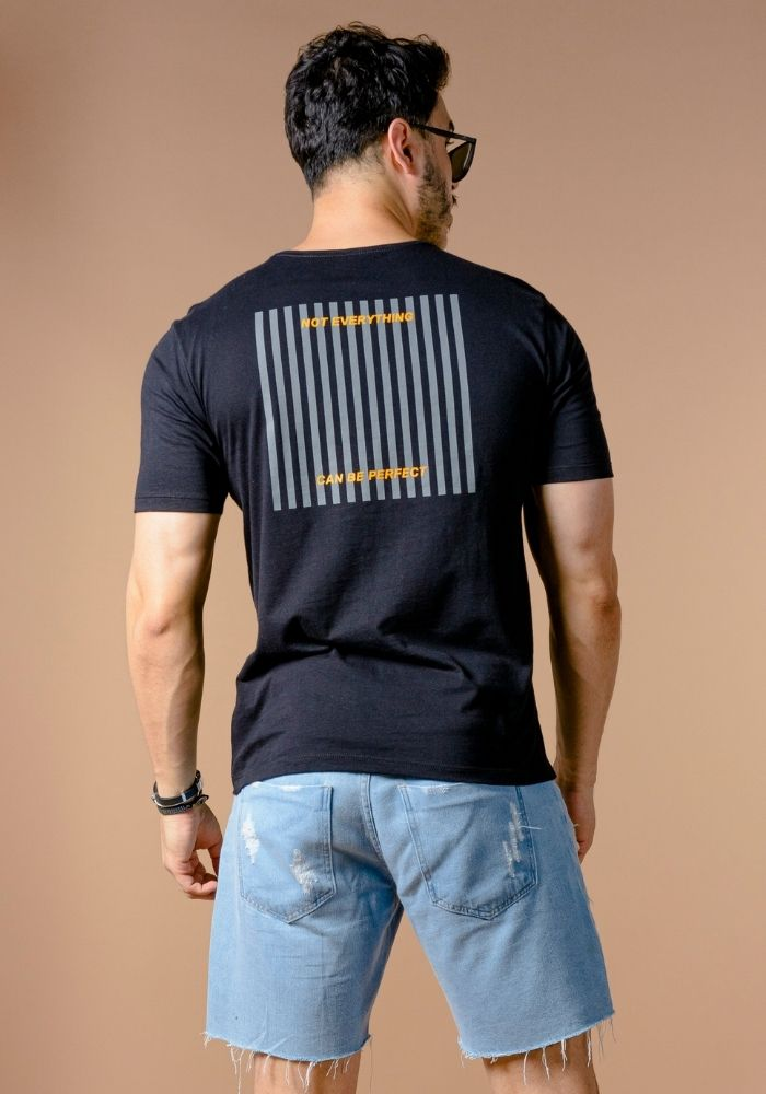 Camiseta Manga Curta ONP Logo Básica Preta