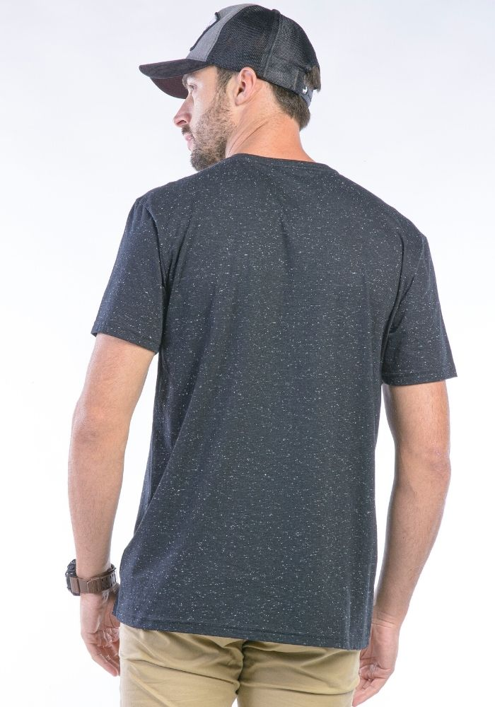 Camiseta Manga Curta Preto Basic