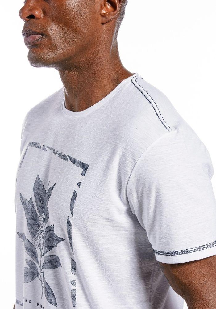 Camiseta Manga Curta Summer Fresh Marinho