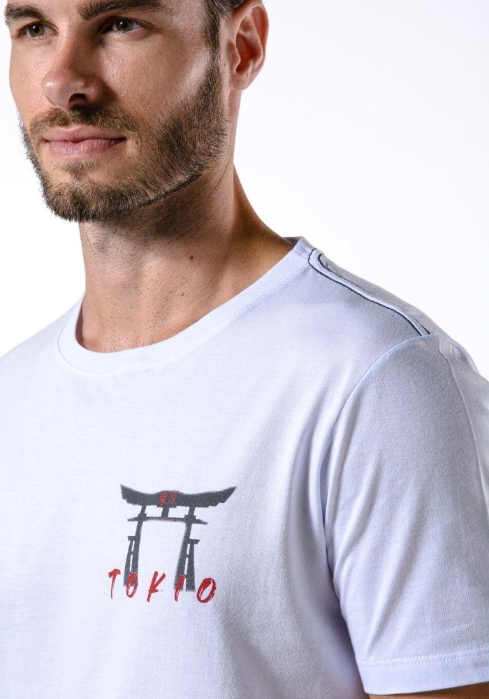 Camiseta Manga Curta Tokio Branco
