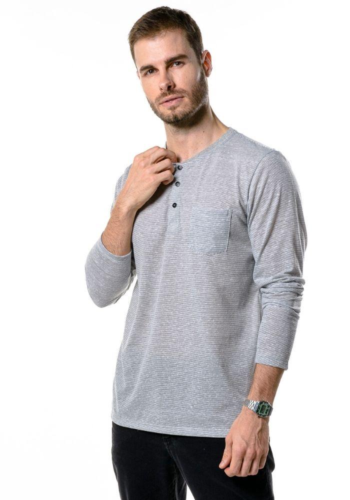 Camiseta Manga Longa Portuguesa Classic Branco