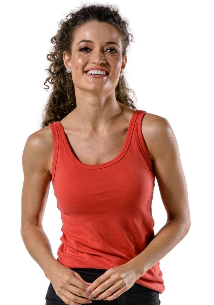Camiseta Regata Básica Cia Gota Woman Vermelho
