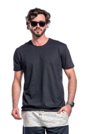 Camiseta Sortida Manga Curta Basic Cia Gota