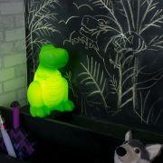 Luminária Dinossauro Verde Usare