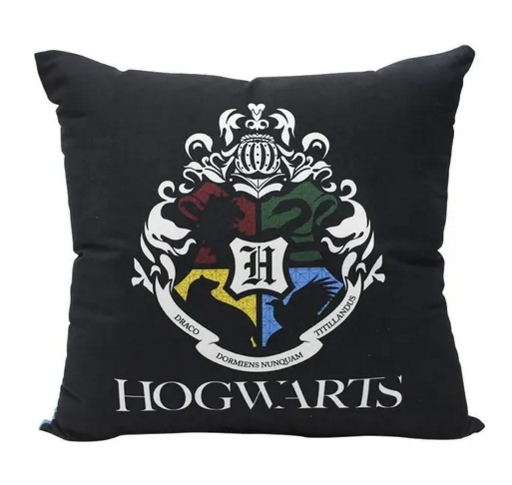 Almofada Veludo Harry Potter 40cmx40cm