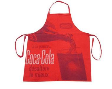 Avental de Cozinha Coca-Cola Servindo Vermelho Vintage