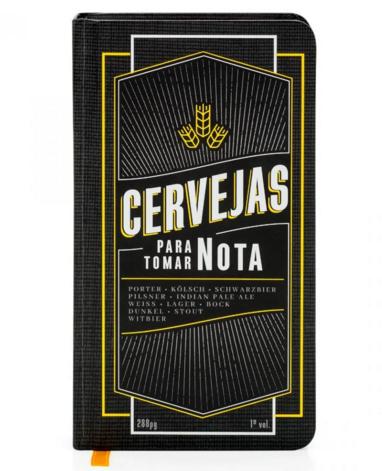 caderno cervejas para tomar nota