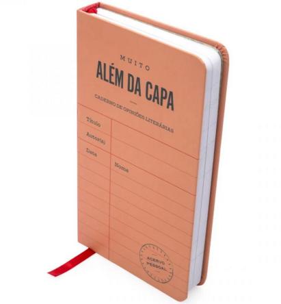 Caderno de Leitura Além da Capa