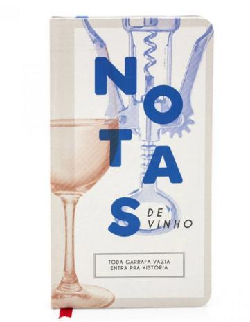 Caderno Notas de Vinho