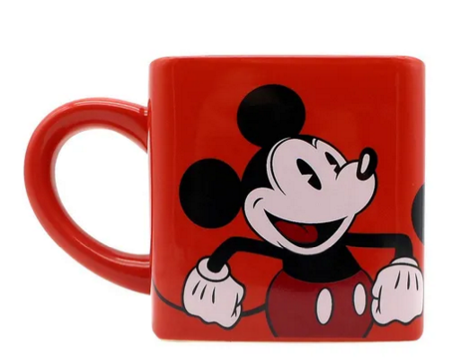 Caneca Cubo 300ml  Mickey e Minnie