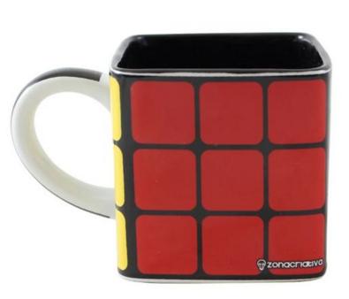Caneca Cubo 300ml Rubiks