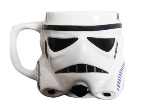 Caneca Formato 3D 500ml Stormtrooper Star Wars