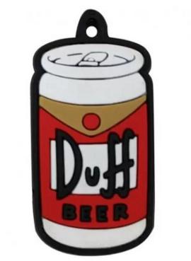 Capa de chave Duff beer